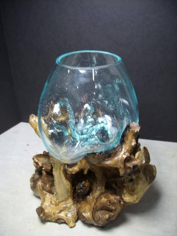Hand Blown Glass Bowl for Sale