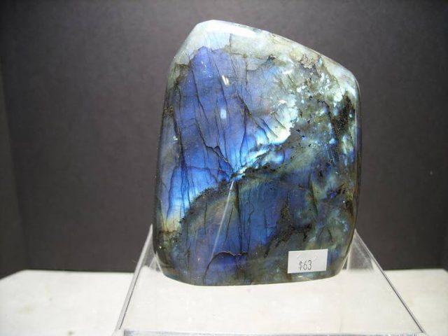 Free-form Labradorite