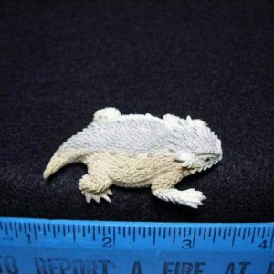 Horned Toad Carving