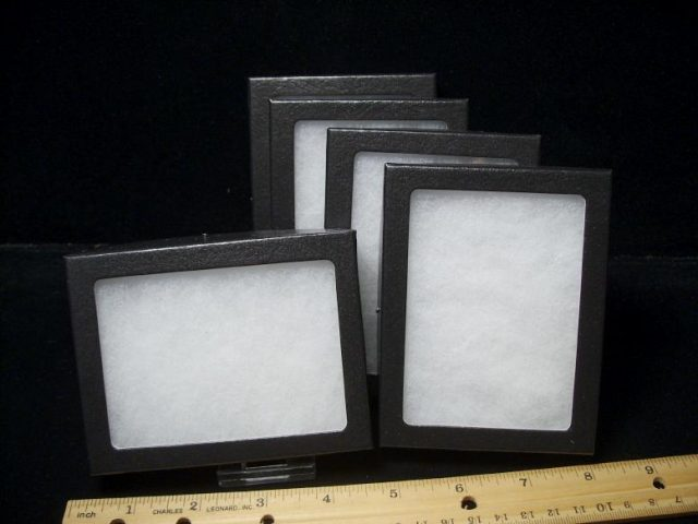 Riker Display Boxes